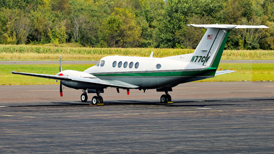 N77CV - Beechcraft 200 Super King Air - Pennsylvania State University