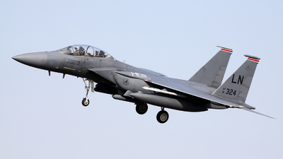 91-0324 - McDonnell Douglas F-15E Strike Eagle - United States - US Air Force (USAF)