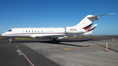 N117QS - Bombardier BD-700-1A11 Global 5000 - NetJets Aviation
