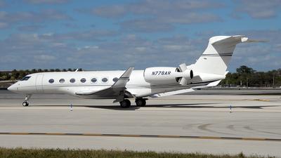 N778AR - Gulfstream G650ER - Private
