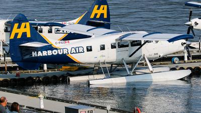 C-FIUZ - De Havilland Canada DHC-3T Vazar Turbine Otter - Harbour Air