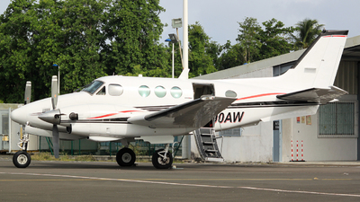 N90AW - Beechcraft C90 King Air - Private