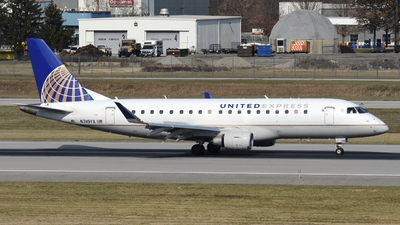 A picture of N749YX - Embraer E175LR - United Airlines - © DJ Reed - OPShots Photo Team