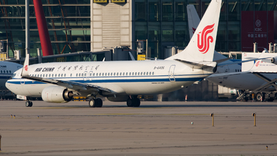 A picture of B6496 - Boeing 73789L - Air China - © Song Yingqi