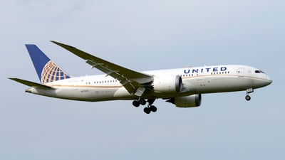 N27903 - Boeing 787-8 Dreamliner - United Airlines