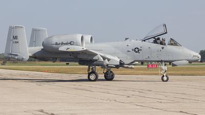 80-0224 - Fairchild A-10C Thunderbolt II - United States - US Air Force (USAF)