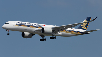 A picture of 9VSGD - Airbus A350941 - Singapore Airlines - © Wang Wei Liang