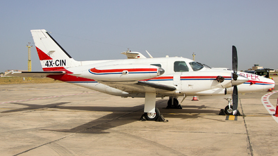 4X-CIN - Piper PA-31T Cheyenne II - Ofek Aerial Photography