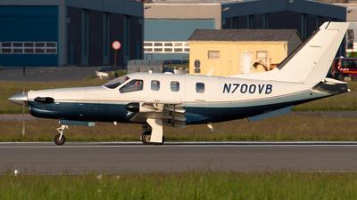 N700VB - Socata TBM-700 - Private