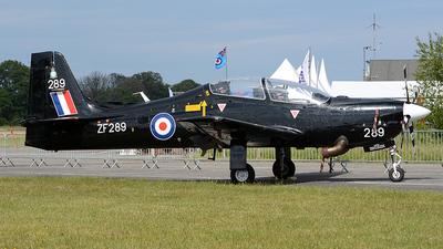 ZF289 - Short Tucano T.1 - United Kingdom - Royal Air Force (RAF)