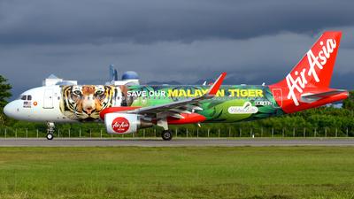 9M-AQZ - Airbus A320-216 - AirAsia