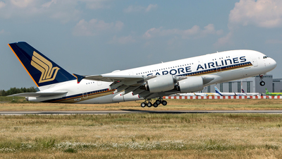 F-WWAB - Airbus A380-841 - Singapore Airlines