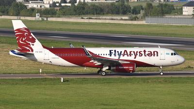 P4-KBC - Airbus A320-232 - Fly Arystan