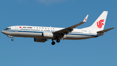 B-1768 - Boeing 737-89L - Air China