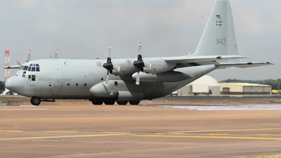 842 - Lockheed C-130H-30 Hercules - Sweden - Air Force
