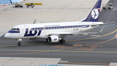 SP-LDH - Embraer 170-100LR - LOT Polish Airlines
