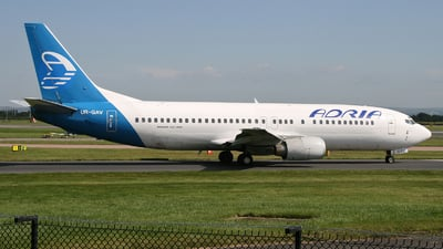 UR-GAV - Boeing 737-4C9 - Adria Airways