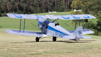 A picture of GACEJ - De Havilland DH83 Fox Moth - [4069] - © Alex