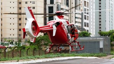 PR-CBM - Eurocopter EC 135T2 - Brazil - Military Firefighters
