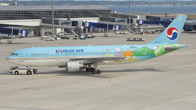 HL7242 - Airbus A300B4-622R - Korean Air