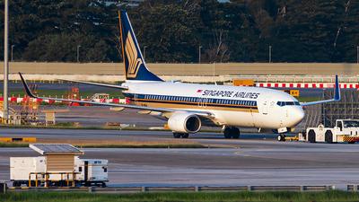 9V-MGA - Boeing 737-8SA - Singapore Airlines