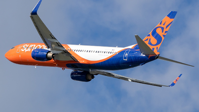 N834SY - Boeing 737-8KN - Sun Country Airlines