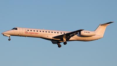 A picture of GRJXH - Embraer ERJ145EP - Loganair - © Borut