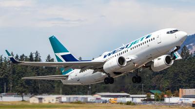 A picture of CGWJG - Boeing 7377CT - WestJet - © Brandon Siska
