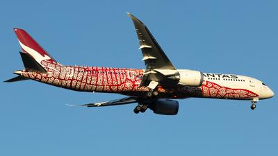 A picture of VHZND - Boeing 7879 Dreamliner - Qantas - © Joel Baverstock