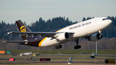 N158UP - Airbus A300F4-622R - United Parcel Service (UPS)