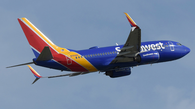 A picture of N7858A - Boeing 73779P - Southwest Airlines - © DJ Reed - OPShots Photo Team