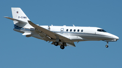 D-CAWK - Cessna Citation Latitude - Aerowest