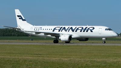 A picture of OHLKE - Embraer E190LR - Finnair - © Freek Blokzijl