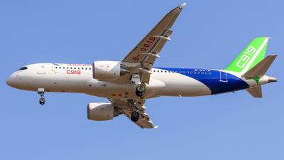 B-001D - COMAC C919 - COMAC