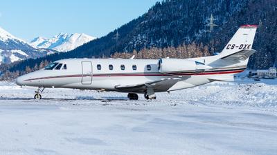 A picture of CSDXK - Cessna 560XLS Citation Excel - NetJets - © Thierry Weber