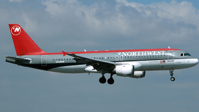 N349NW - Airbus A320-212 - Northwest Airlines