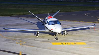 N578BA - Cirrus Vision SF50 G2 Arrivee - Private