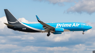 N542RL - Boeing 737-83N(BCF) - Amazon Prime Air (Sun Country Airlines)