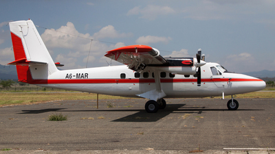 A6-MAR - De Havilland Canada DHC-6-300 Twin Otter - Private