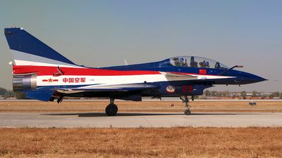 09 - Chengdu J10S - China - Air Force