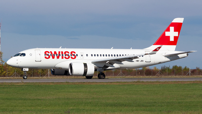 A picture of HBJBI - Airbus A220100 - Swiss - © Robert Dumitrescu