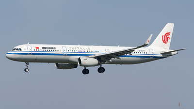 A picture of B1877 - Airbus A321232 - Air China - © ZGGG RWY01