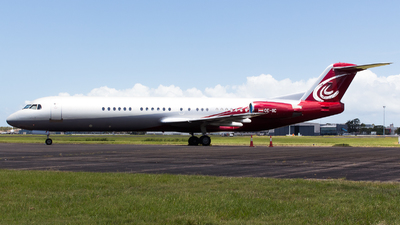 OE-IIC - Fokker 100 - MJet