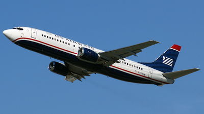N459UW - Boeing 737-4B7 - US Airways