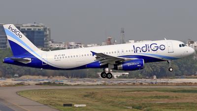 VT-IEV - Airbus A320-232 - IndiGo Airlines