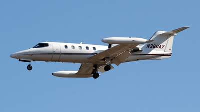 N360AY - Gates Learjet 35A - Private