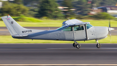 MSP018 - Cessna TR182 Turbo Skylane RG - Costa Rica - Ministry of Public Security