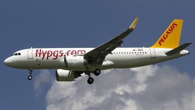 F-WWDN - Airbus A320-251N - Pegasus Airlines