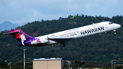 N488HA - Boeing 717-2BD - Hawaiian Airlines