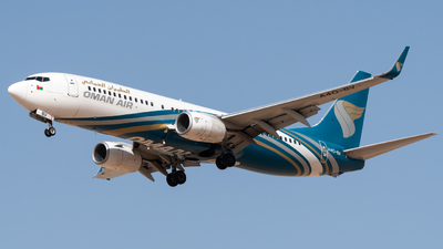 A picture of A4OBV - Boeing 73781M - Oman Air - © AirlinerSpotter